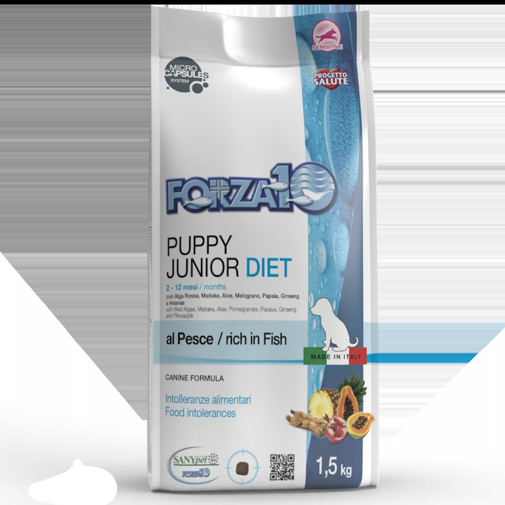 Puppy Junior Diet al pesce