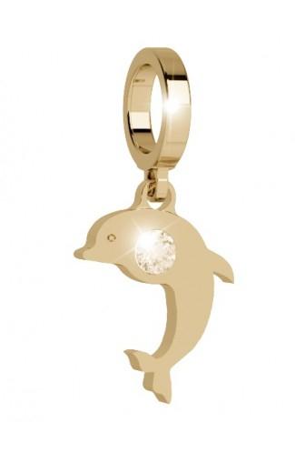 Charm delfino Rebecca. Collezione Myworld Charms.