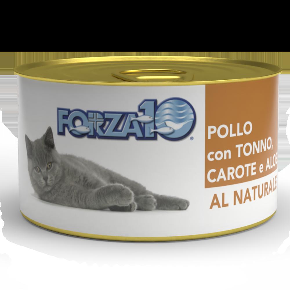 Pollo con tonno, carote e aloe Al Naturale