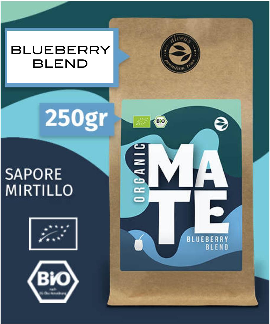 MATE Blueberry Blend - Alveus - busta da 250g