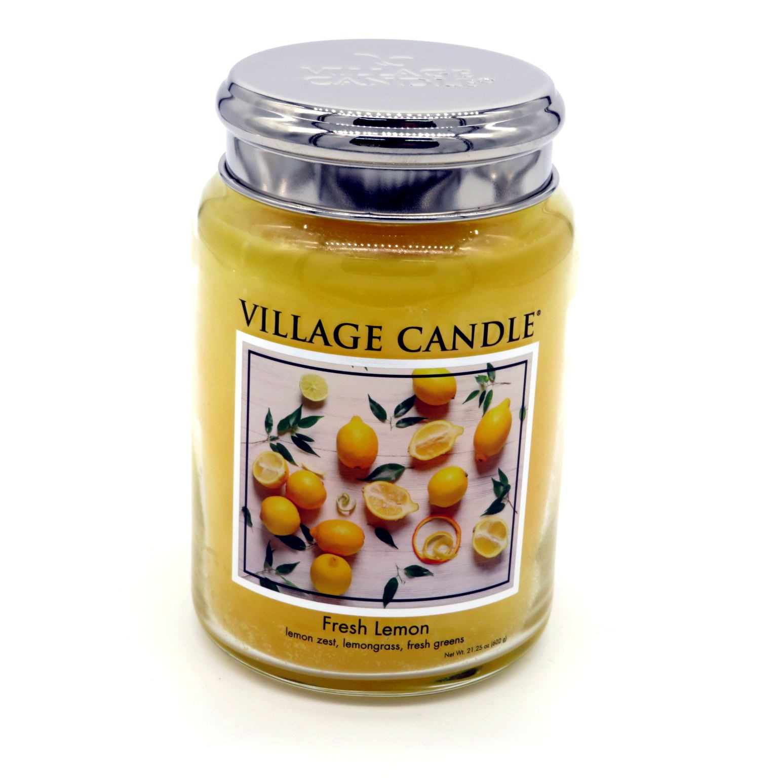 Candela Village Candle Fresh Lemon 170 ore