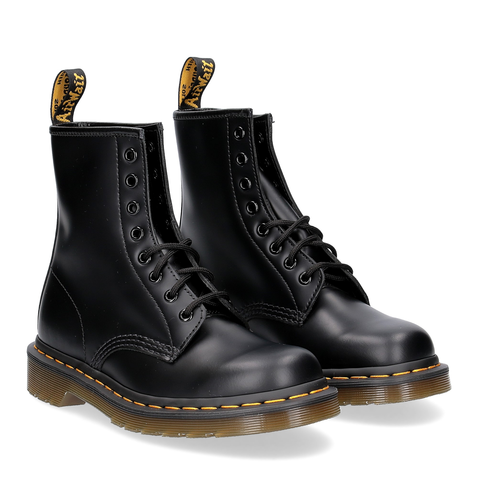 Dr. Martens Anfibio Uomo 1460 black smooth