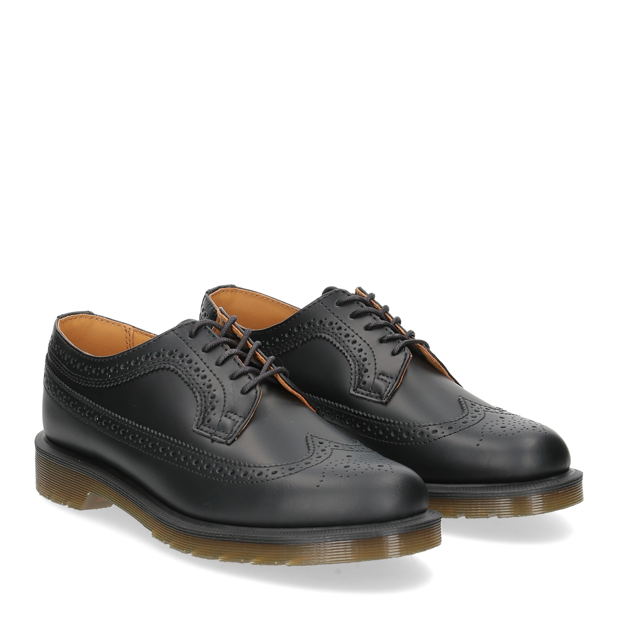 Dr. Martens Stringata Uomo 3989 brogue black smooth