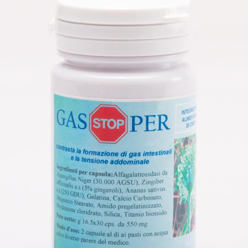 La Scienza Infusa Gas Stopper 30 Capsule