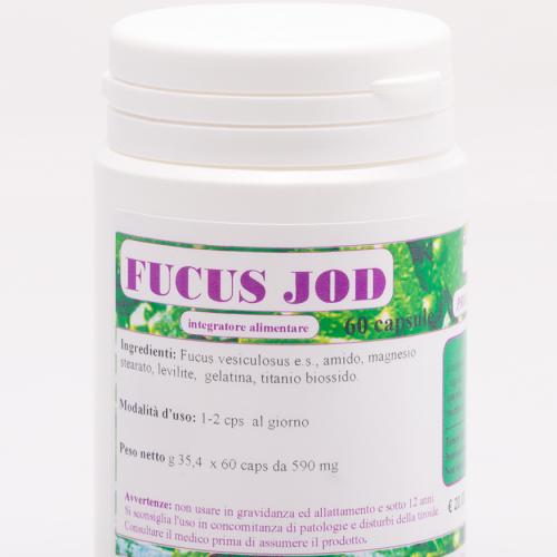 La Scienza Infusa Fucus Jod 60 Capsule