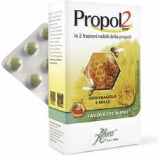 Aboca Propol2 Emf Tavolette Bimbi da 45