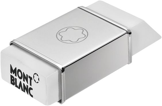Mont Blanc Lifestyle 38212 Eraser with Steel Cover