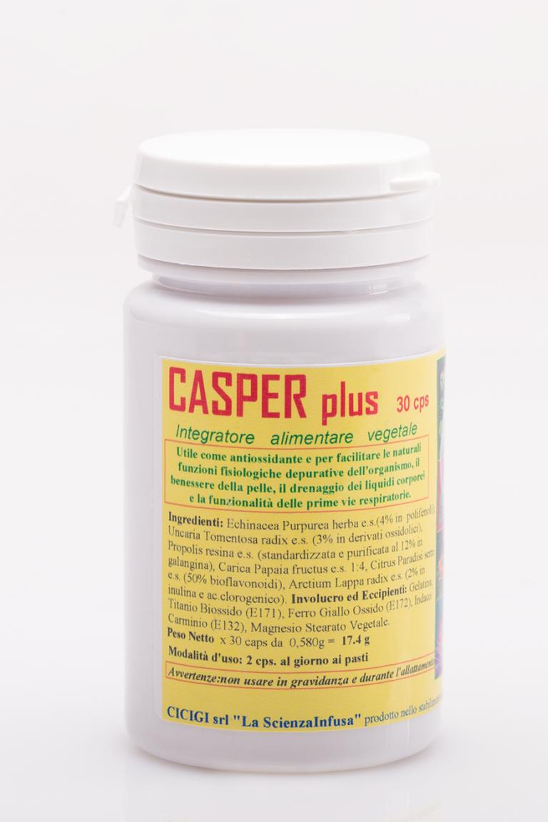 La Scienza Infusa Casper Plus 30 Capsule