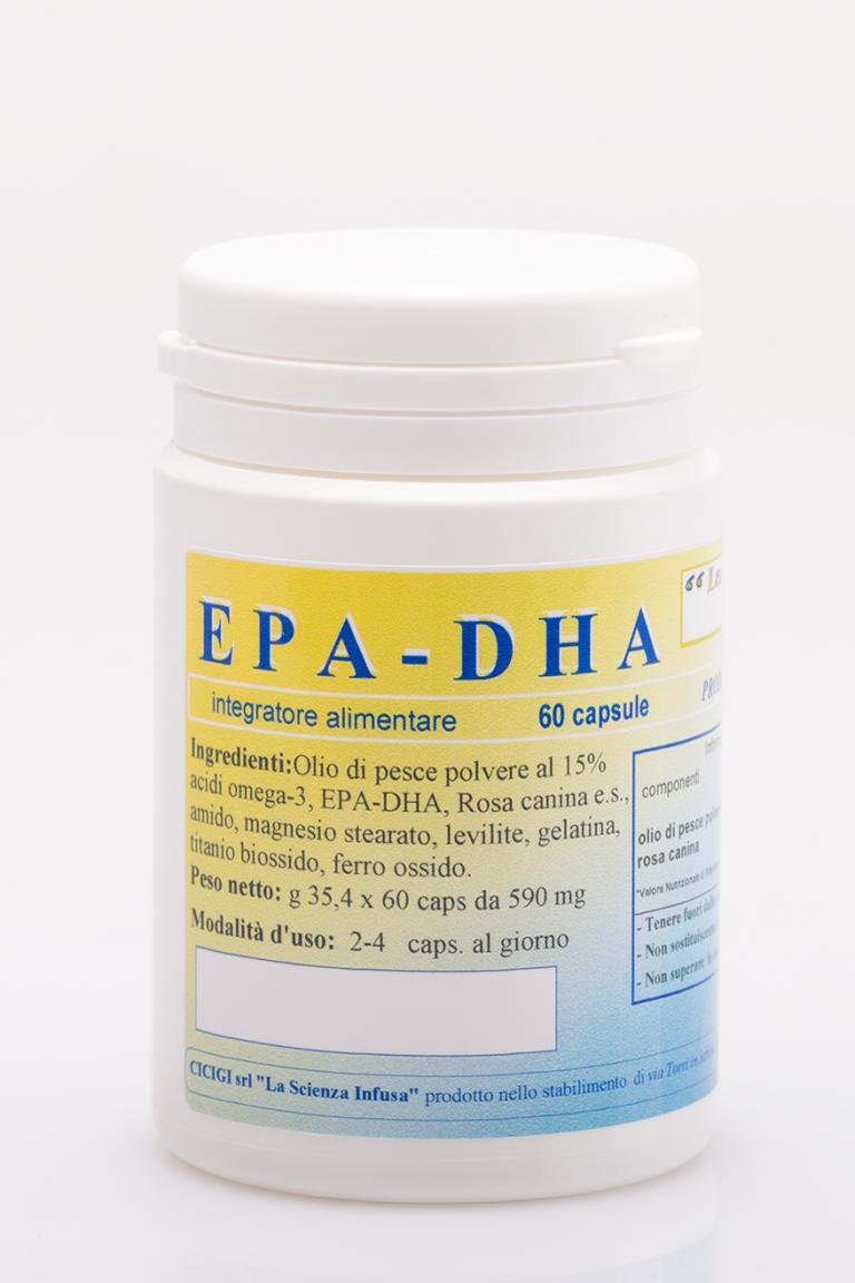 La Scienza Infusa EPA DHA 60 Capsule