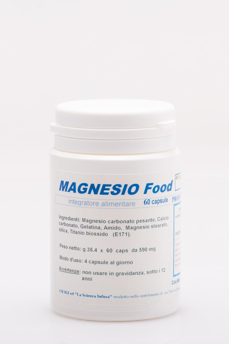 La Scienza Infusa Magnesio Food 60 Capsule