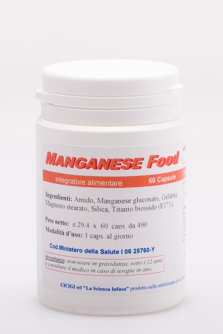La Scienza Infusa Manganese Food 60 Capsule