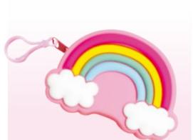 Porta Sacchetti Mini Bag Rainbow CROCI