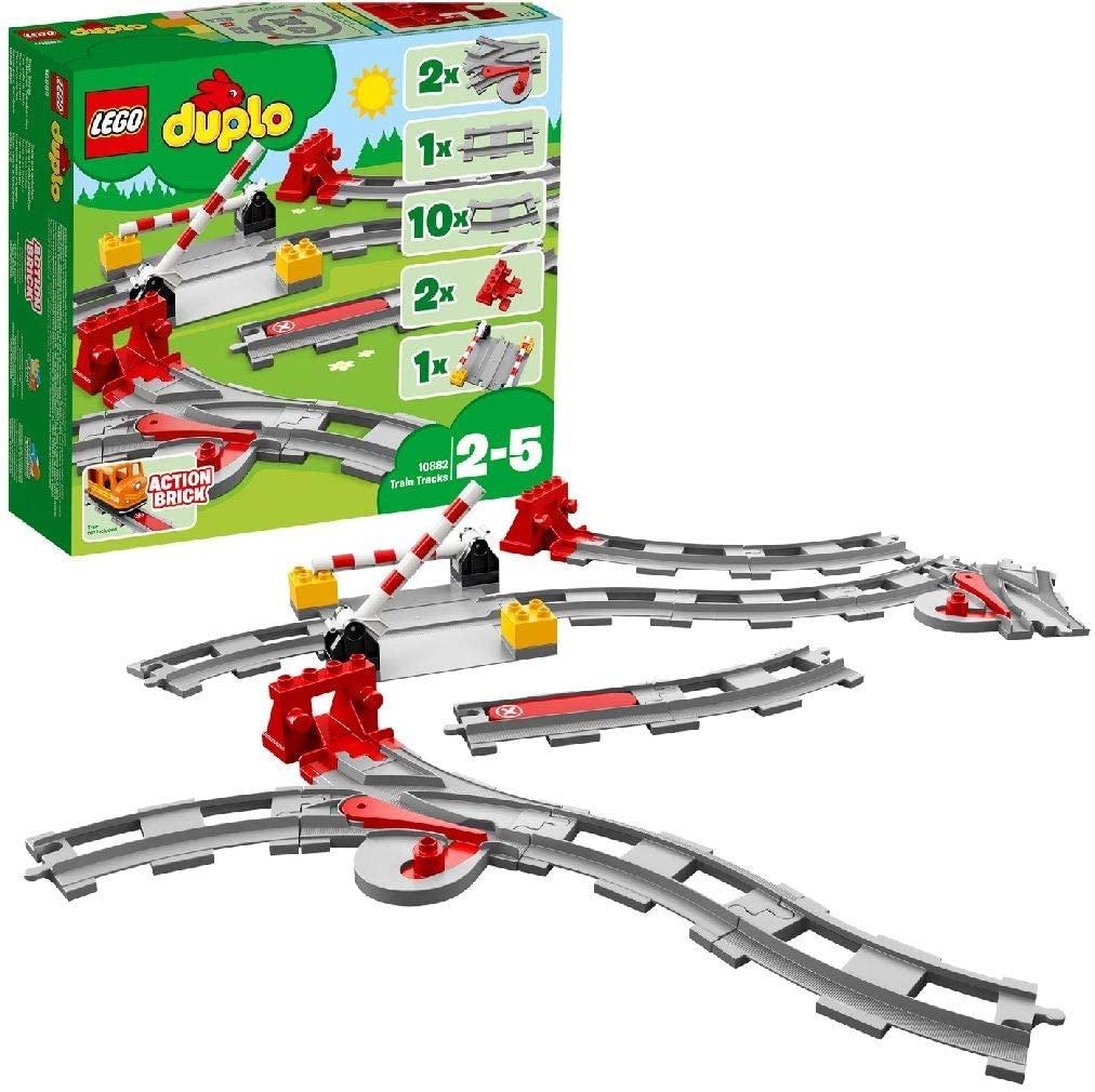 DUPLO 10882 - Binari ferroviari