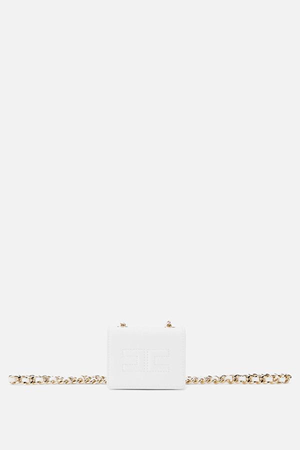 Borsa marsupio White Elisabetta Franchi SS20