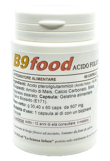 La Scienza Infusa B9 Food 60 Capsule