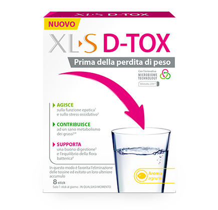 XL-S D-TOX 8 Stickpack