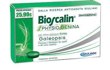 Bioscalin Nova Genina Trattamento 3 Mesi 90 Compresse