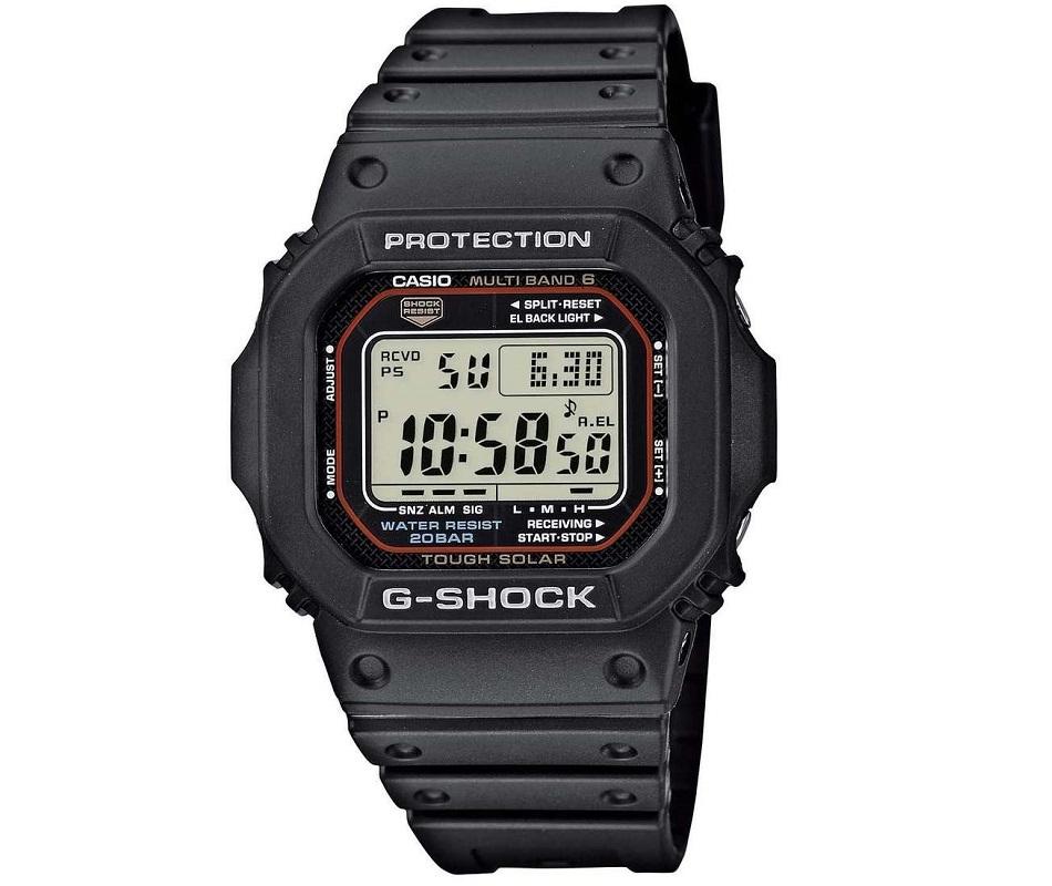 Casio G-Shock cronografo, Solare
