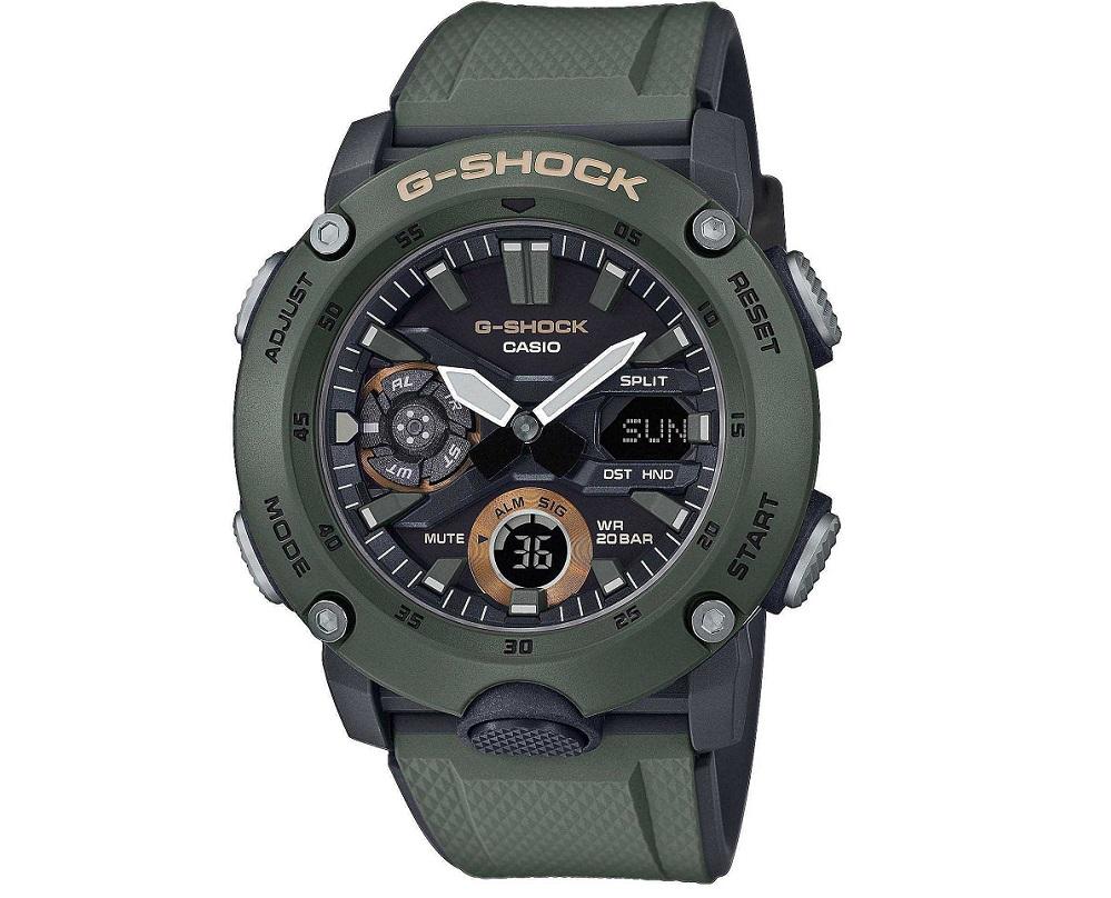 Casio G-Shock multifunzione, verde