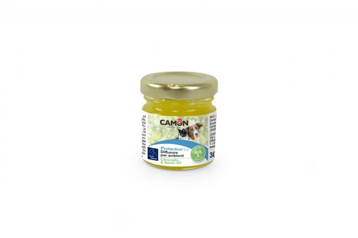 Diffusore per ambienti con Citronella e olio di Neem Camon