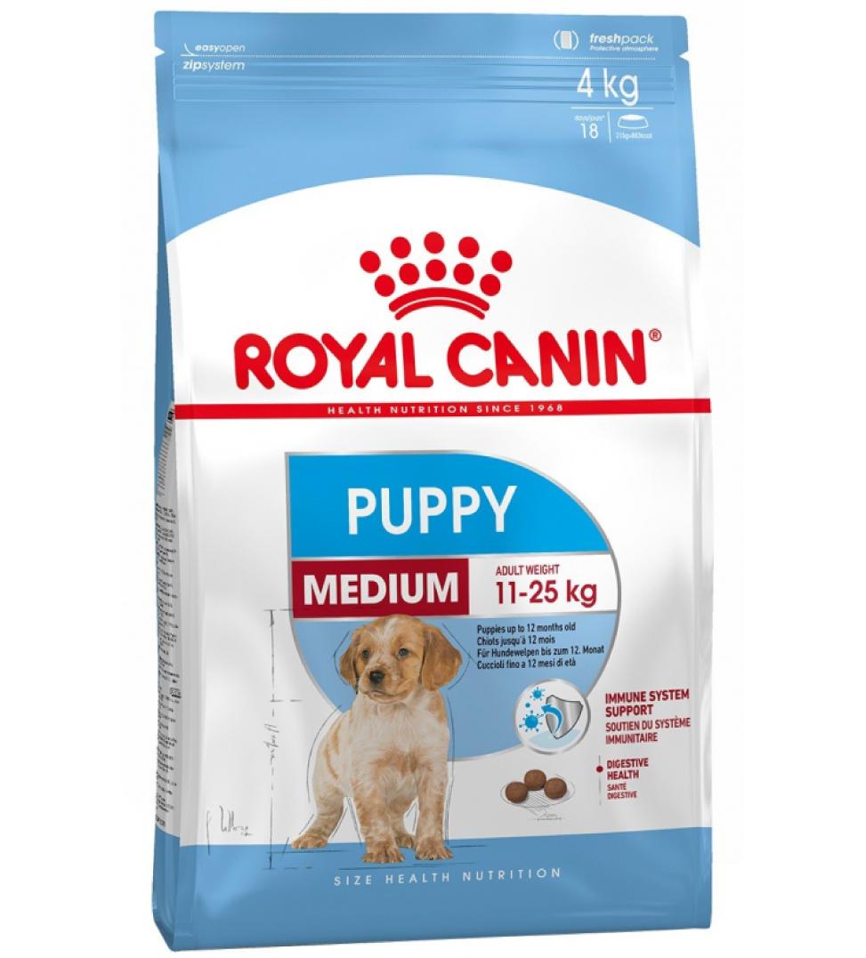 Royal Canin - Size Health Nutrition - Medium Puppy - 4kg
