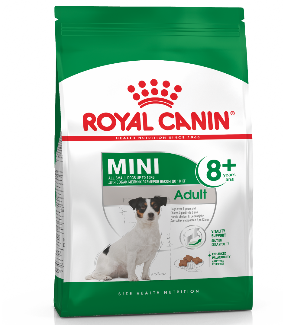 Royal Canin - Size Health Nutrition - Mini Adult 8+ - 2 kg