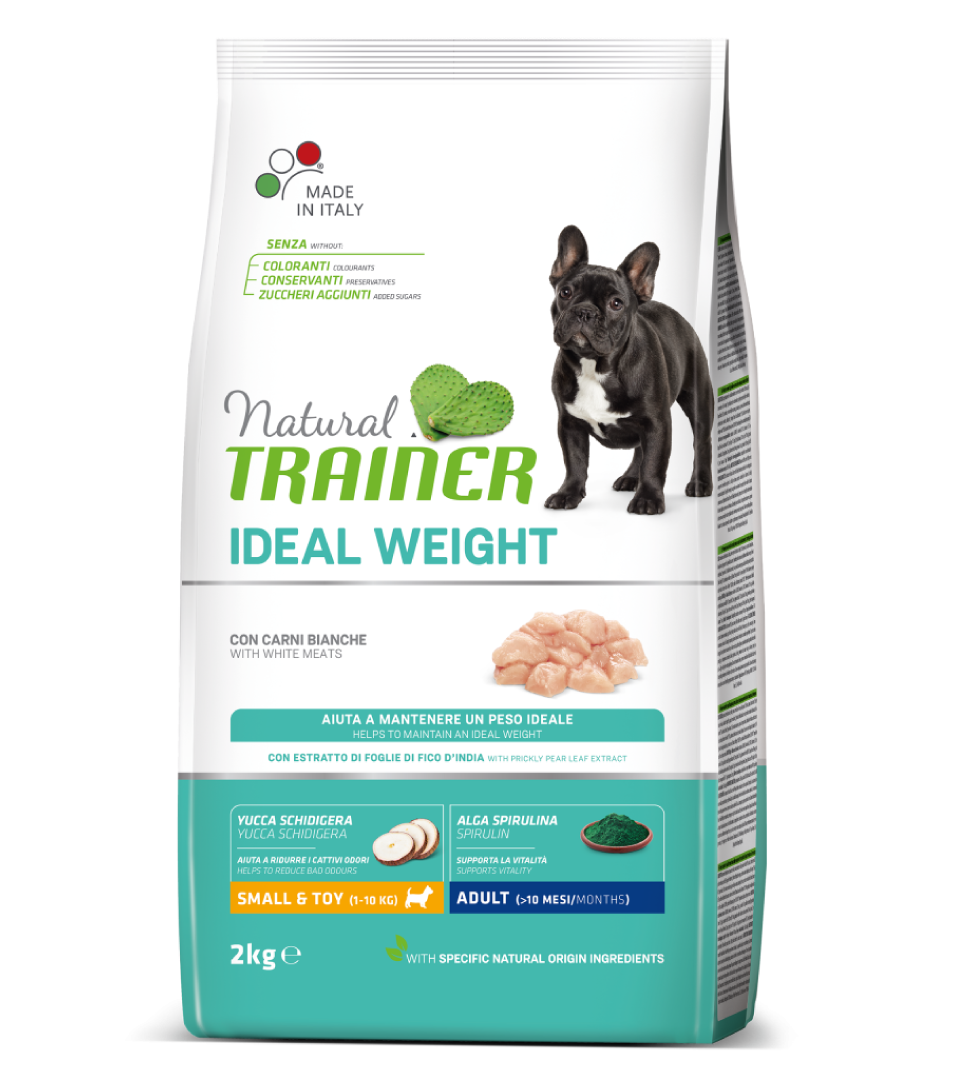 Trainer Natural - Small&Toy - Ideal Weight - Carni Bianche - 7 kg