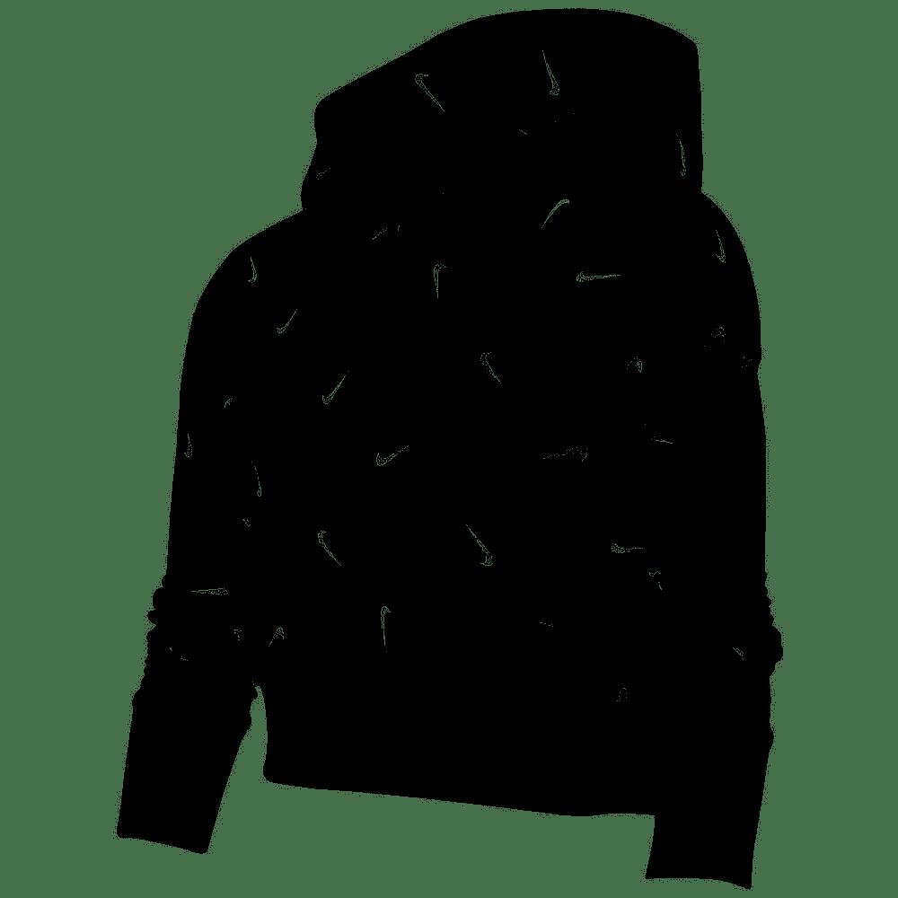 Felpa Ragazza pullover con cappuccio Nike Sportswear CZ2566-010  -9