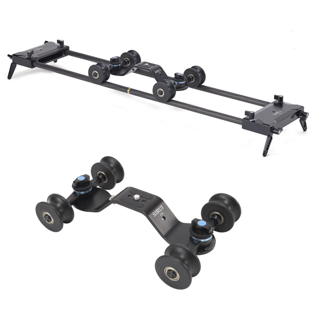 Video Survival Kit VSK-2 Slider e Dolly da Tavolo