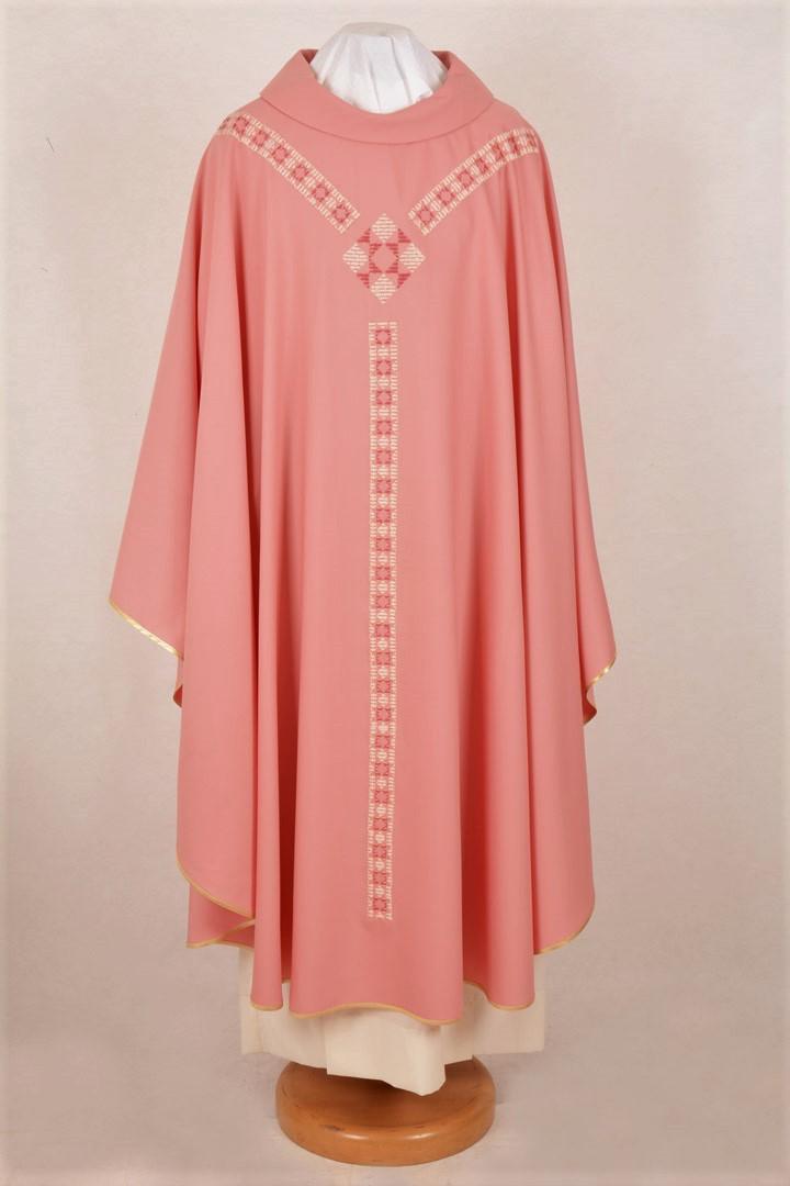 Casula C99T rosa Sallia di Pura Lana