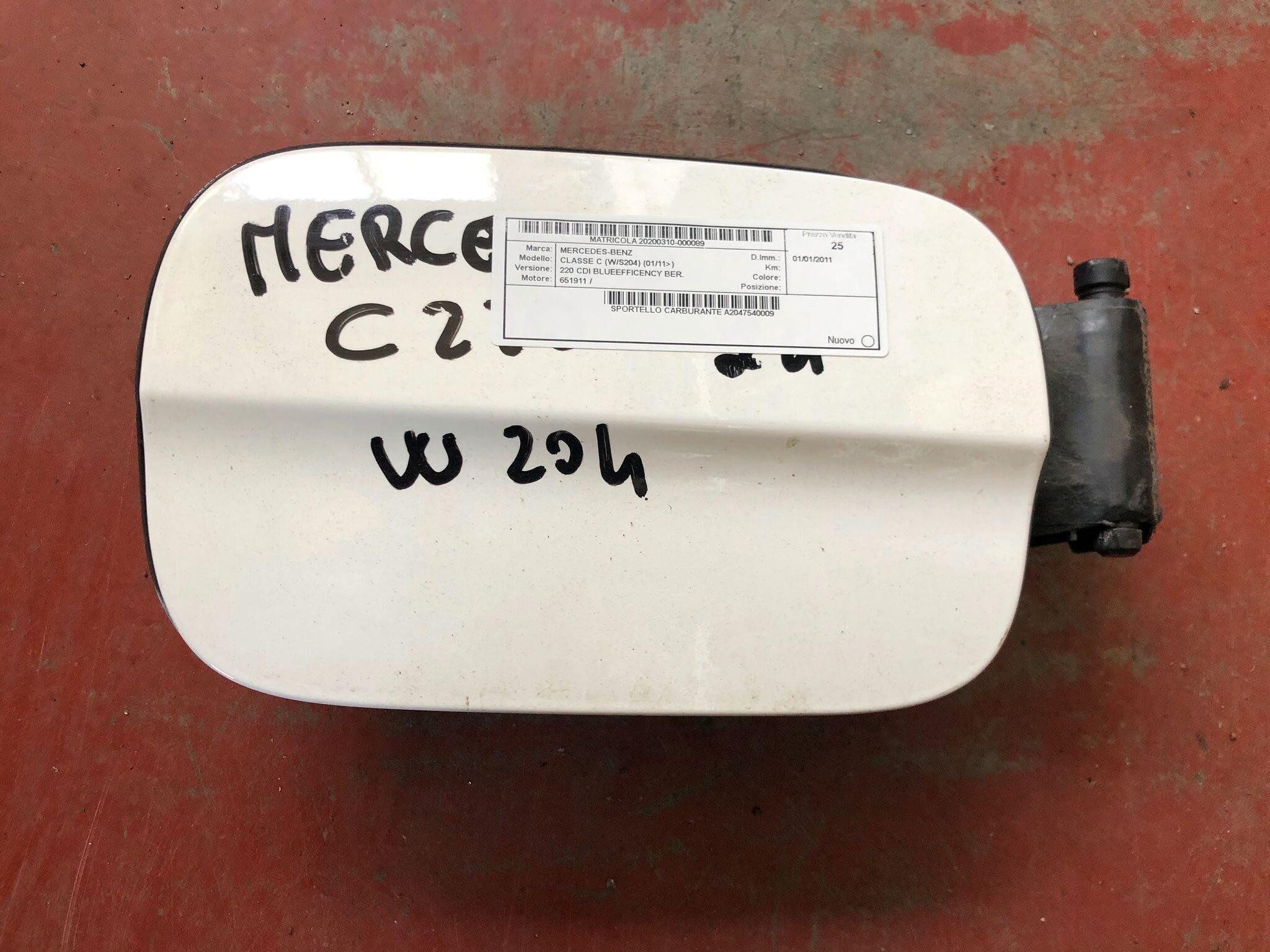Sportello carburante usato Mercedes-Benz Classe C W/S 204 2012>