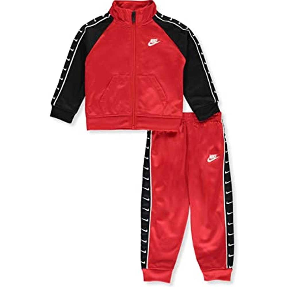 Tuta Nike Swoosh Rossa\Nera Junior
