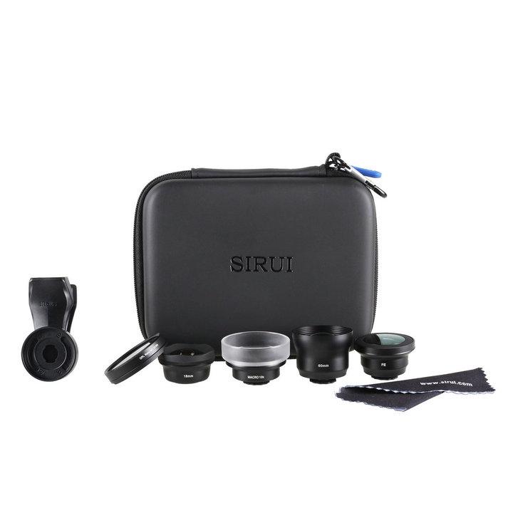 Kit Box obiettivi lenti + filtri + clip