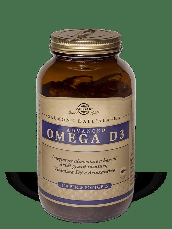 Solgar Advanced Omega D3-120 perle soft-gels