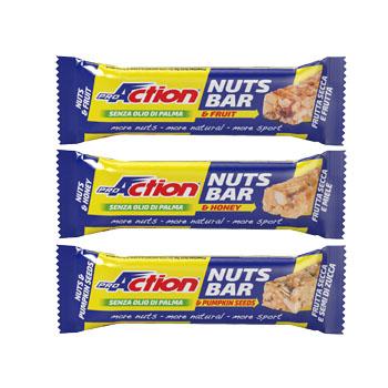 Proaction Bar Nuts Miele 30 G