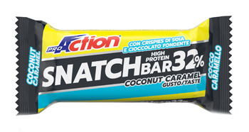 Proaction Snatch B32% Cocco Caramello Barretta 60 G