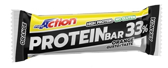 Proaction Protein Bar 33% Barretta 50 G