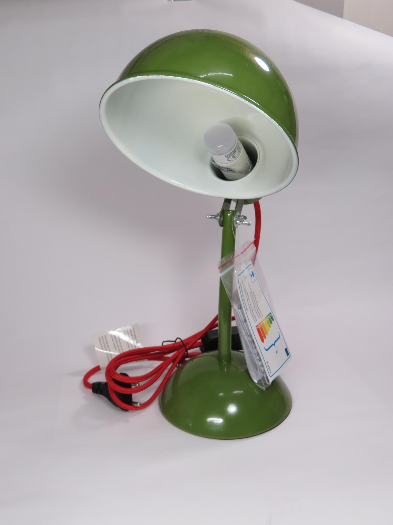Lampada da tavolo Lucille verde