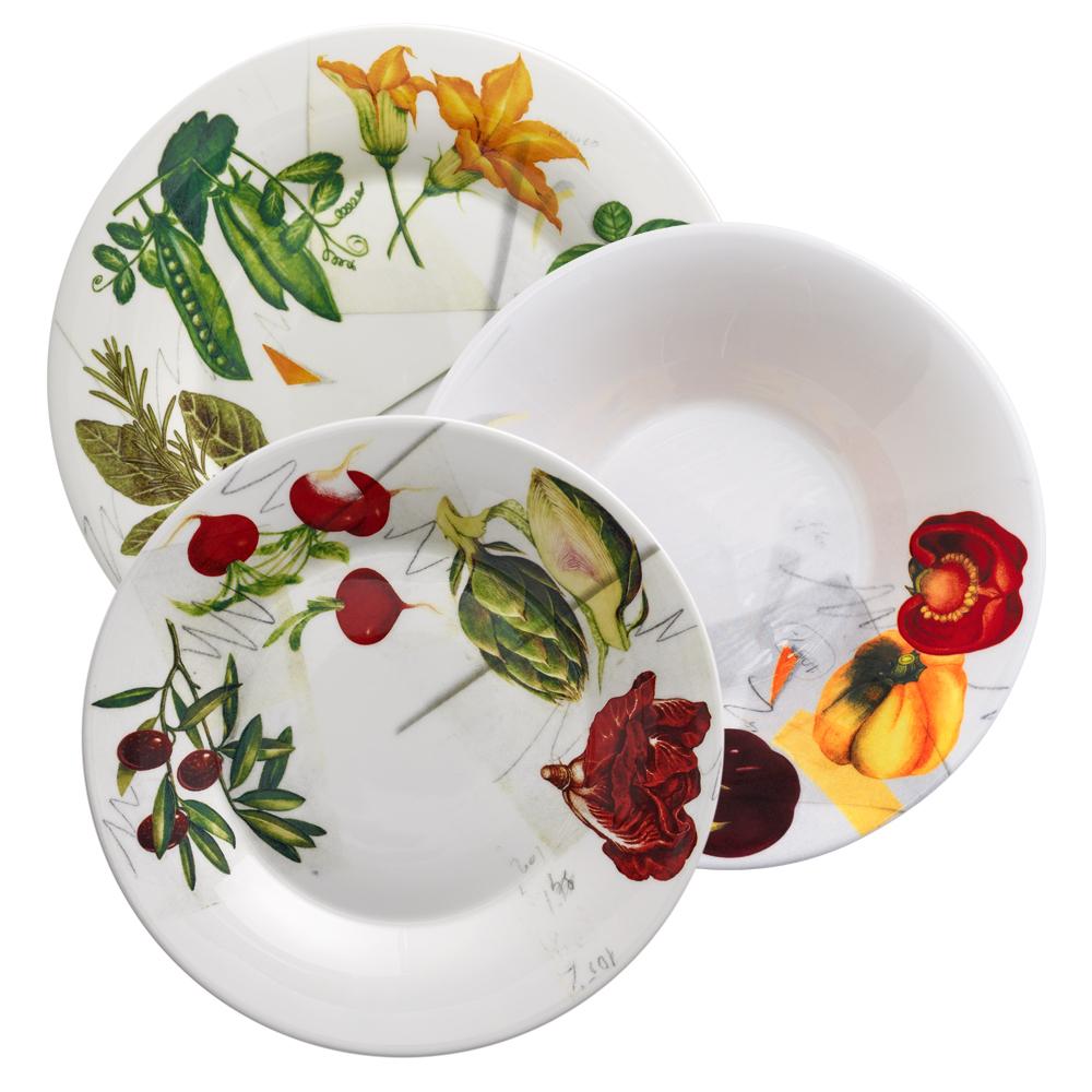 Set 3 pezzi   Vegan   La Cucina Italiana