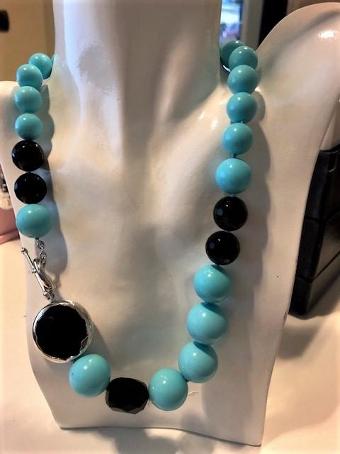 Collana perle e argento Della Rovere