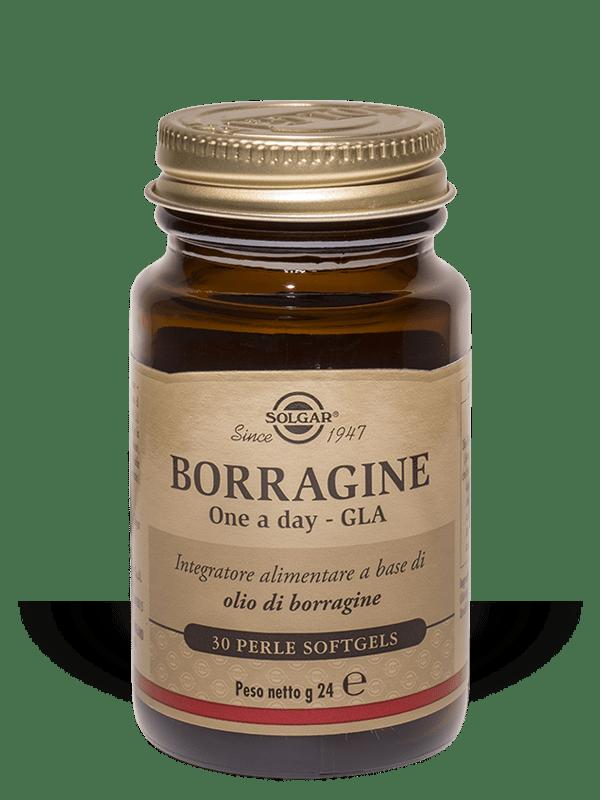 Solgar Borragine One A Day Gla-30 perle