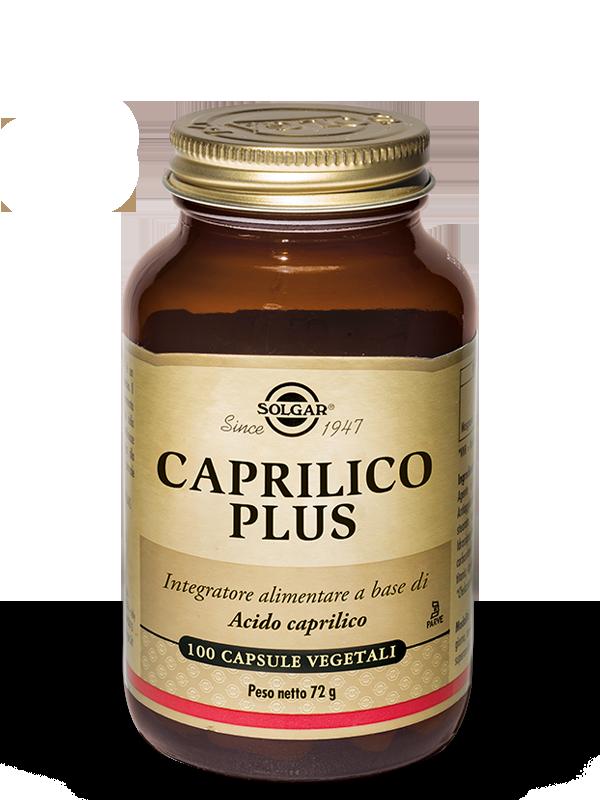Solgar Caprilico Plus-100 capsule vegetali