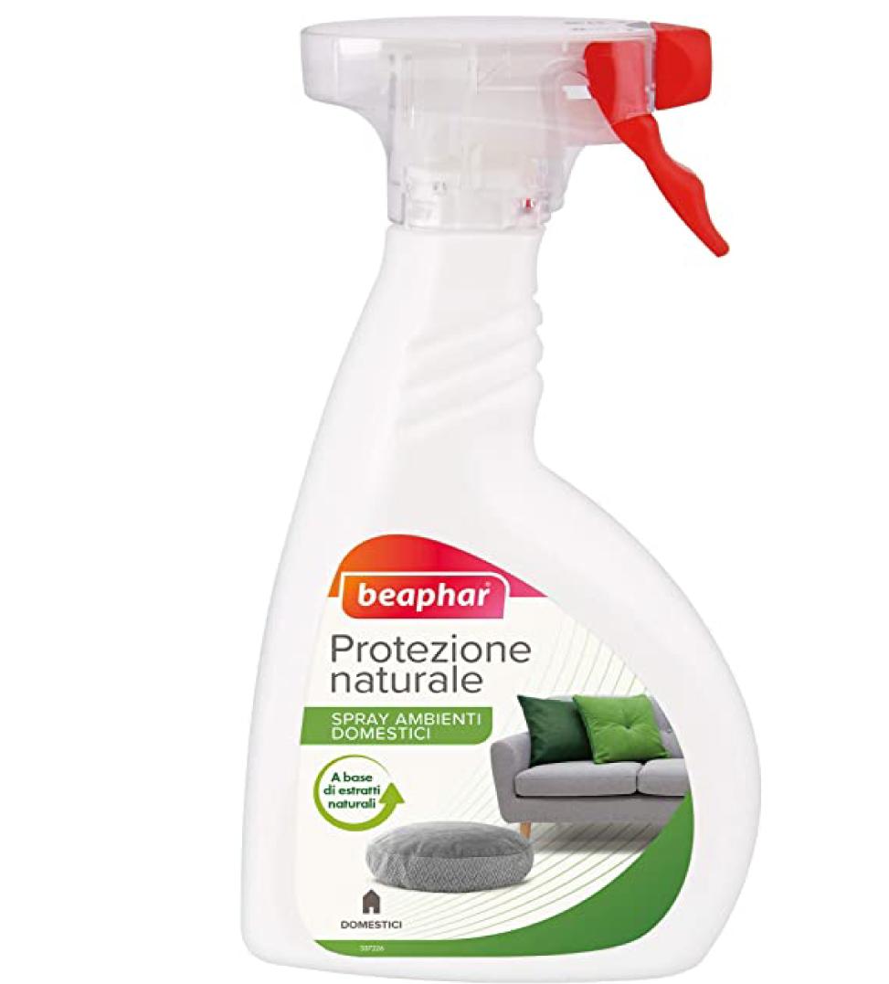 Beaphar - Protezione Naturale - Spray antiparassitario ambienti domestici 400ml