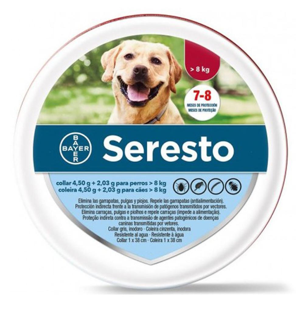 Bayer - Seresto - Cane - Oltre a 8 kg