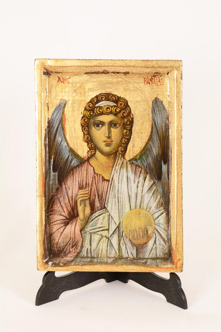 Icona Arcangelo Raffaele cm 20x14