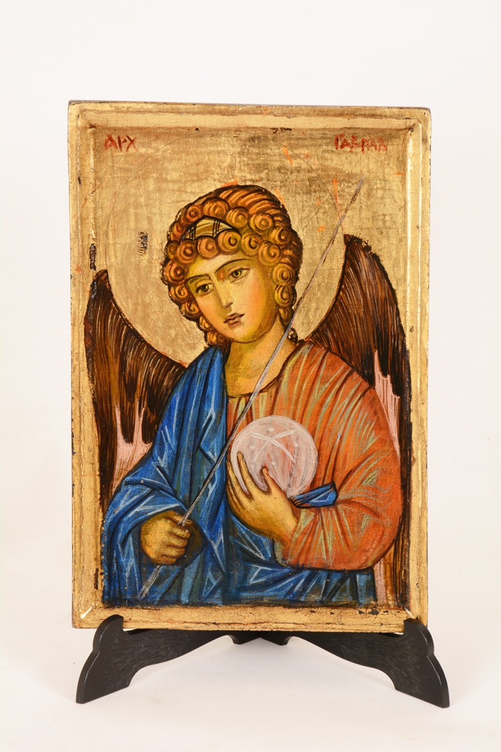 Icona Arcangelo Gabriele cm 20x14