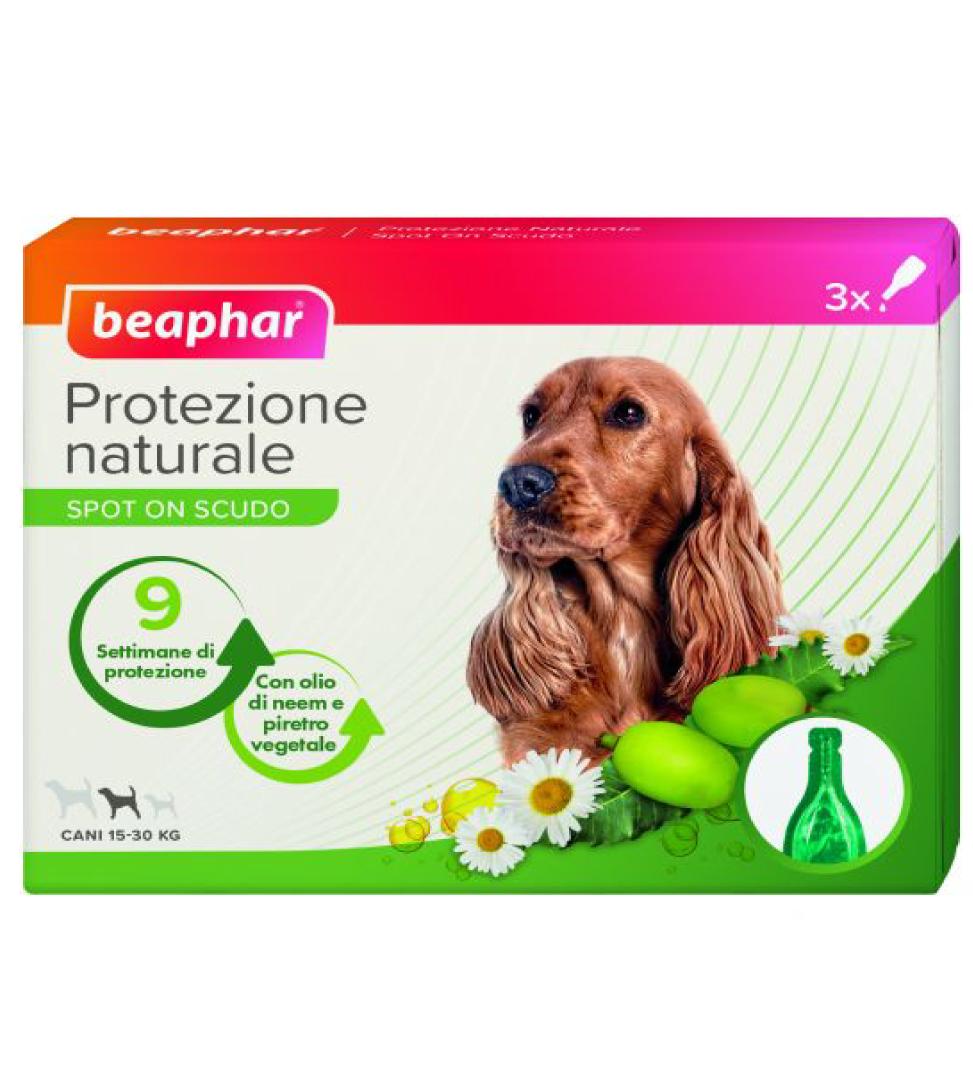 Beaphar - Protezione Naturale - Spot-on Cane medio