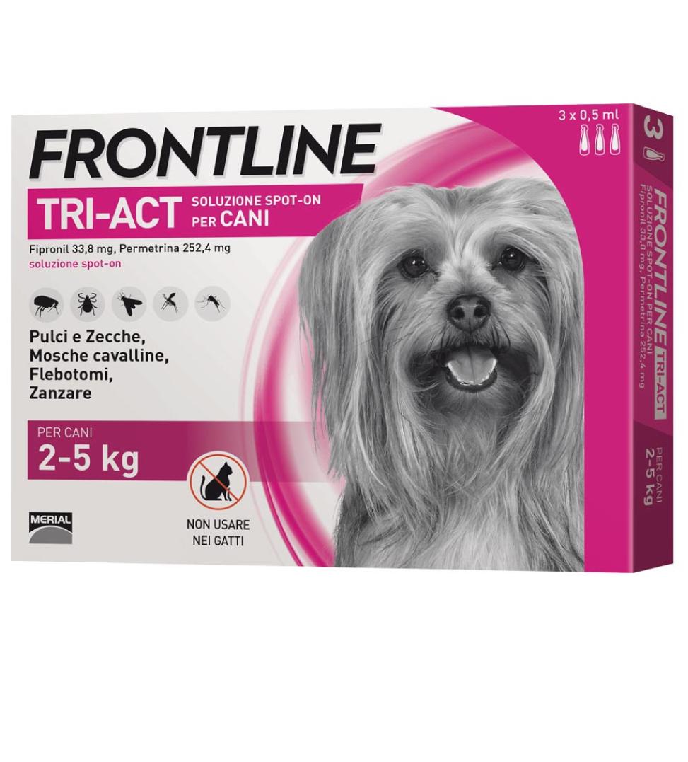 Frontline - TriAct - Da 2 a 5 kg