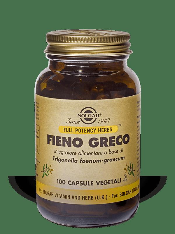 Solgar Fieno Greco 100 capsule vegetali