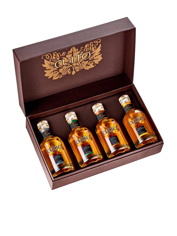 Collezione MiniCulto 4X (Amarone, Moscato, Barolo, Gewurztraminer)